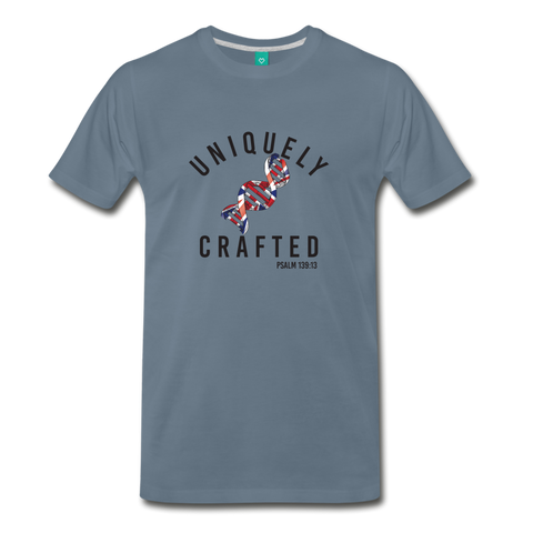 Uniquely Crafted Men's Premium T-Shirt - UK - Everything Psalms