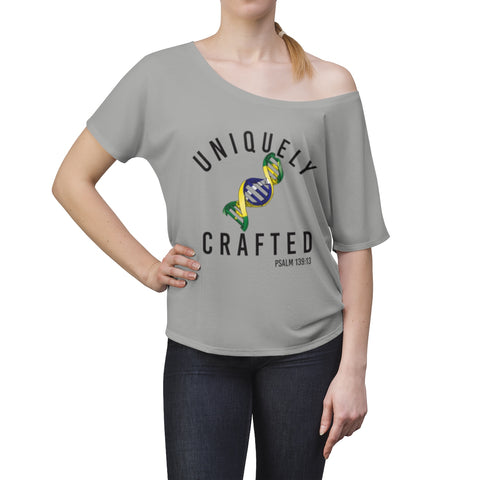 Uniquely Crafted Women's Slouchy Top - BRAZIL - Everything Psalms