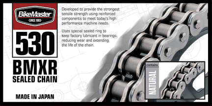 BikeMaster 530 BMXR Series Chain | 130 Links - 1FNGR