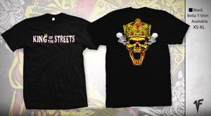 """King of the Streets"" T-Shirt - 1FNGR"