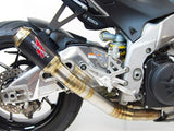 GP Race Slip On Exhaust - 2017+ Aprilia RSV4 & Tuono - 1FNGR, LLC