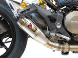 Slip On Exhaust - Monster 1200/S/R - 1FNGR