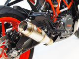 GP Slip-On Exhaust - 2017+ KTM RC390 - 1FNGR