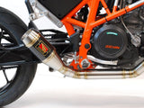 GP Full System Exhaust - 2013+ KTM 690 DUKE - 1FNGR