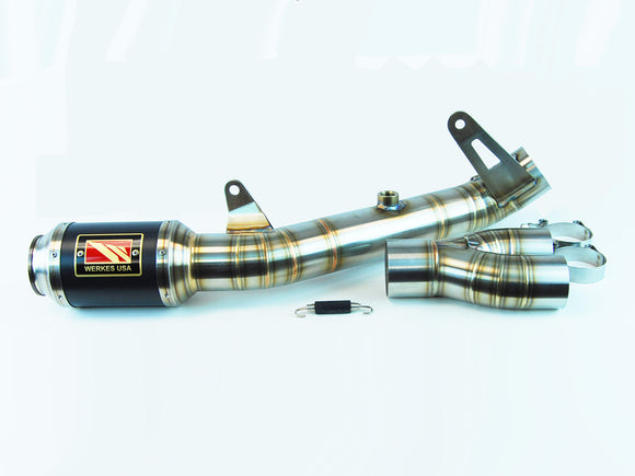 GP Race Slip On Exhaust - 2017+ Yamaha R6