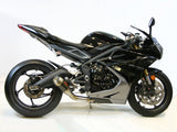 Slip On Exhaust - 2013 - 17 Daytona 675/675R - 1FNGR, LLC