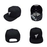 Black Louis Snapback Hat - 1FNGR, LLC