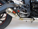 Slip On Exhaust - 2013 - 16 Street Triple - 1FNGR