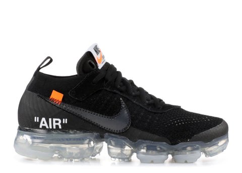"Nike Air VaporMax ""Off-White"" Black - KICKSCAPITAL"
