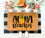 Aloha Beaches Doormat