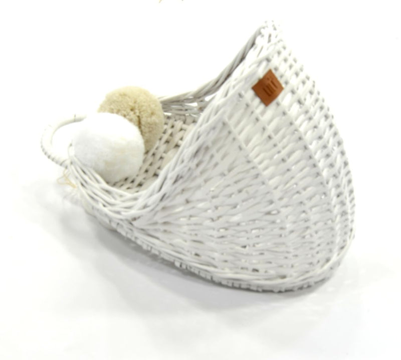Wicker wall basket (10 Colours Available)