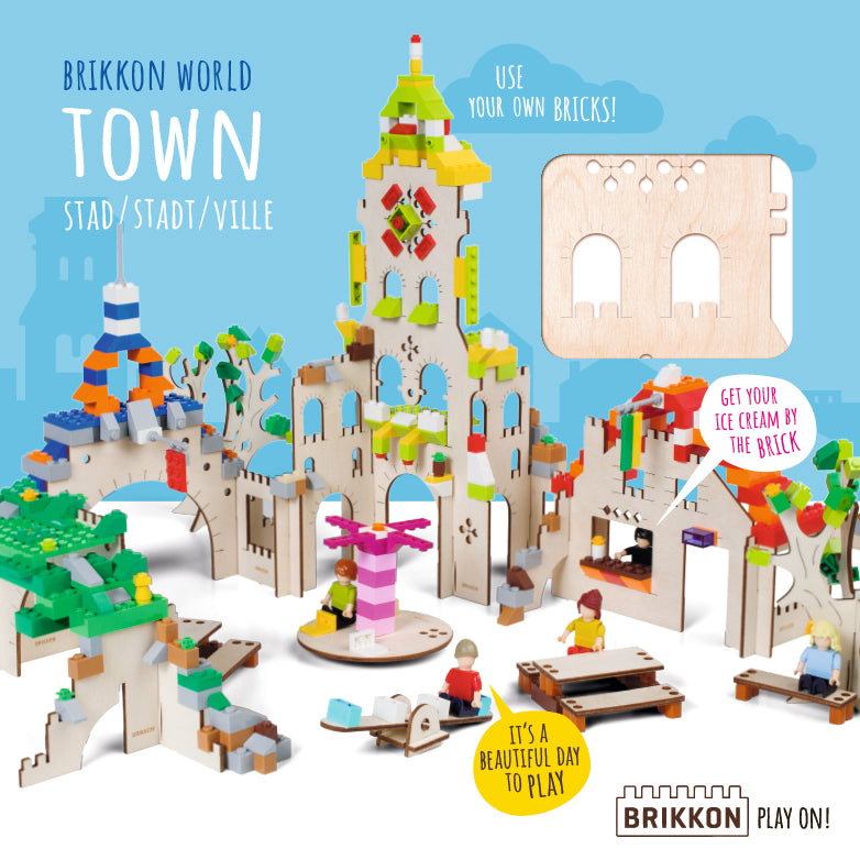 Brikkon World - Town