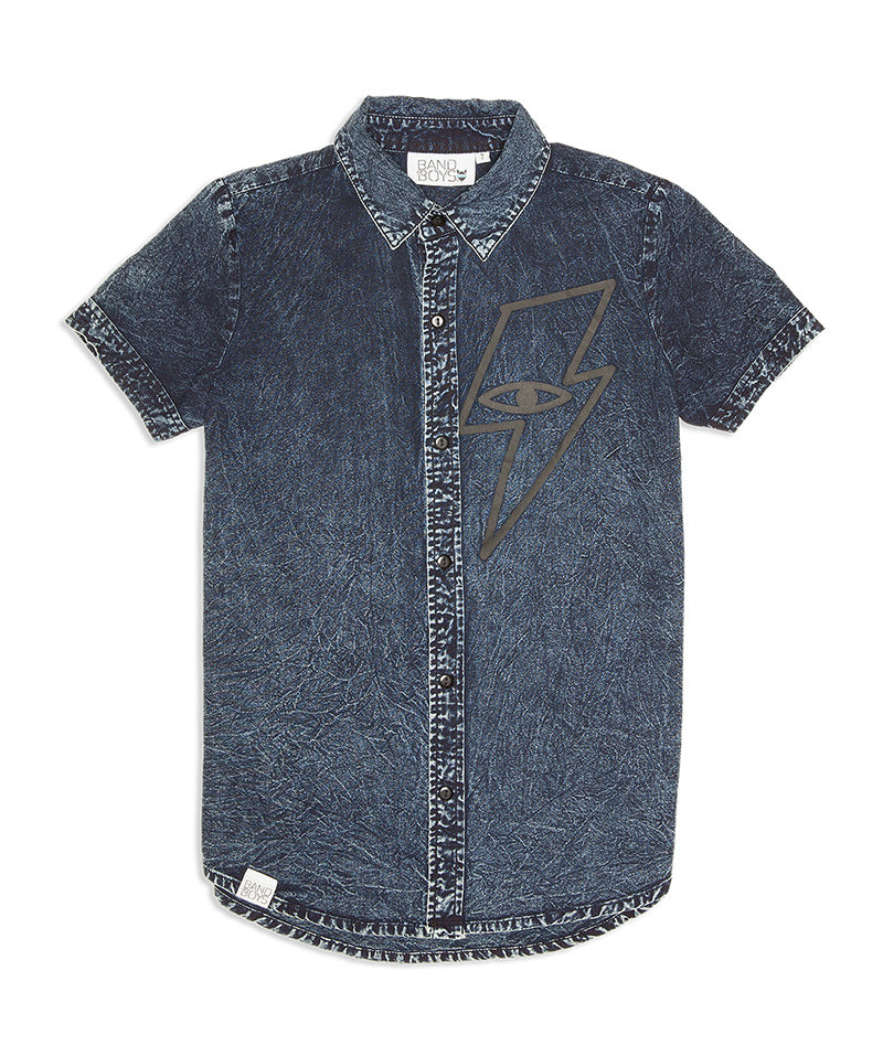 Lightning Strike Denim Shirt