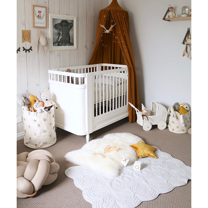 Cot Quilt and Pillow Set - Mist