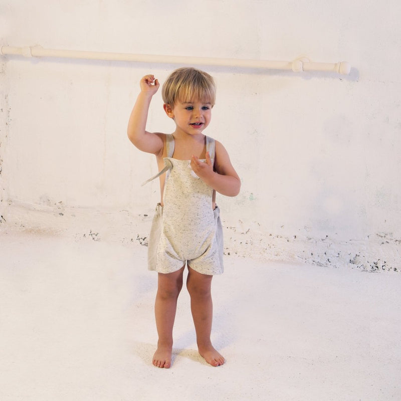 Sand Reversible Dungarees