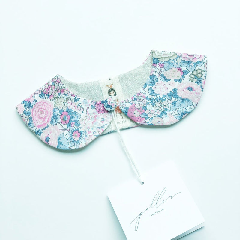 Liberty Print Peter Pan Collar (Elysian C Purple)