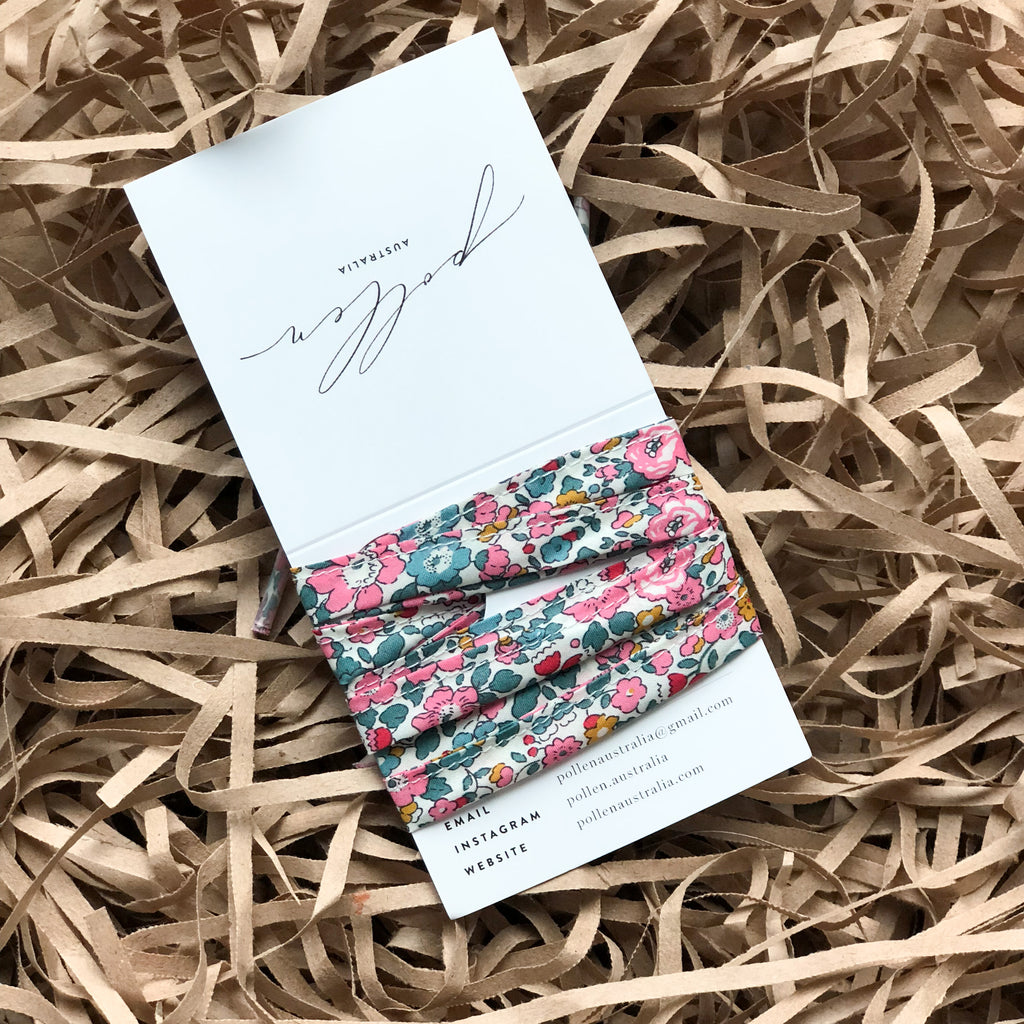 Liberty Print Shoelaces (Betsy Ann E)