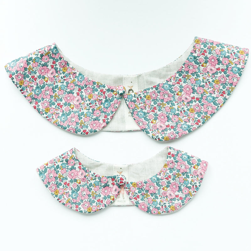 Liberty Print Peter Pan Collar (Betsy Ann E)