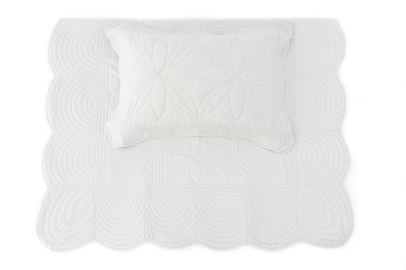 Single Bedspread Quilt and Pillow Set - Mist