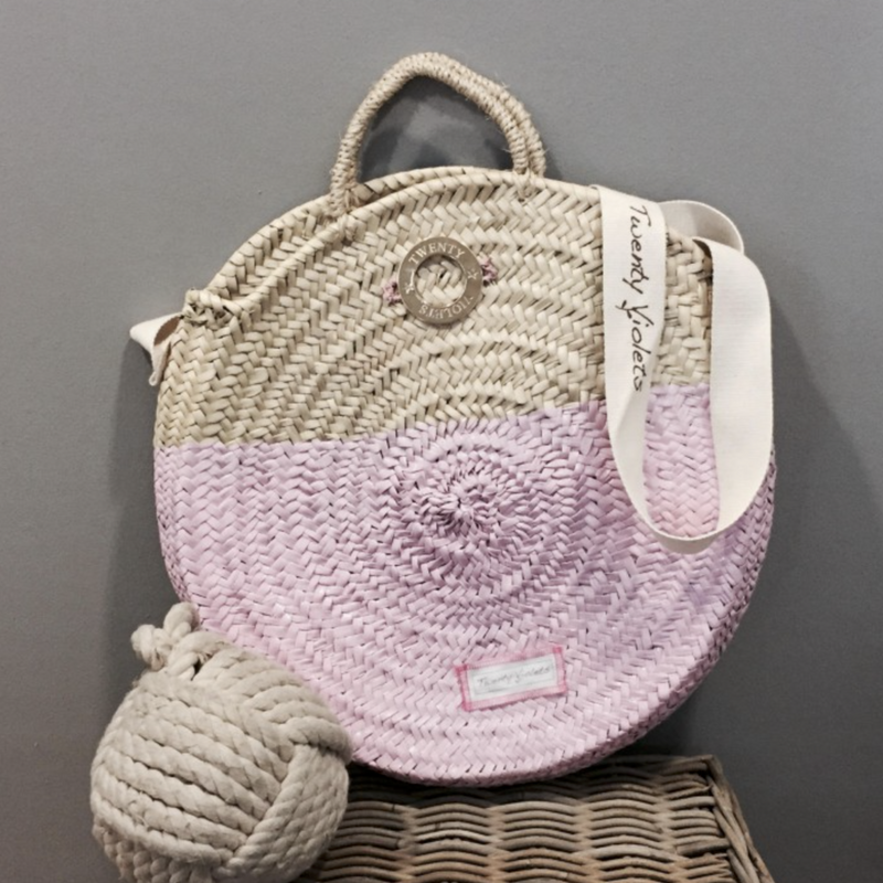 Bora Bora Basket in Pink