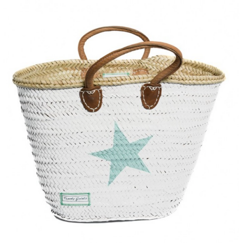 Classic Star Basket (Maxi, Mini) - Mint