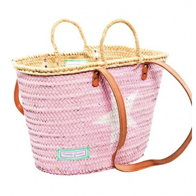 Classic Star Basket with Strap (Large, Mini)