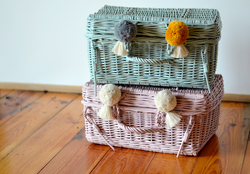 Wicker Suitcase (4 Colours Available)
