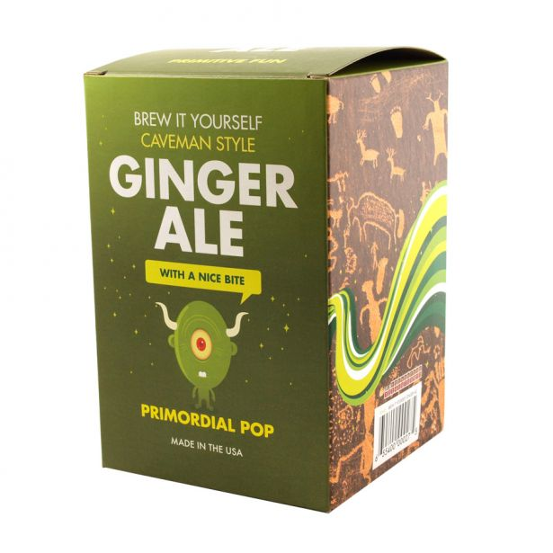 Brew It Yourself Caveman Style - Ginger Ale