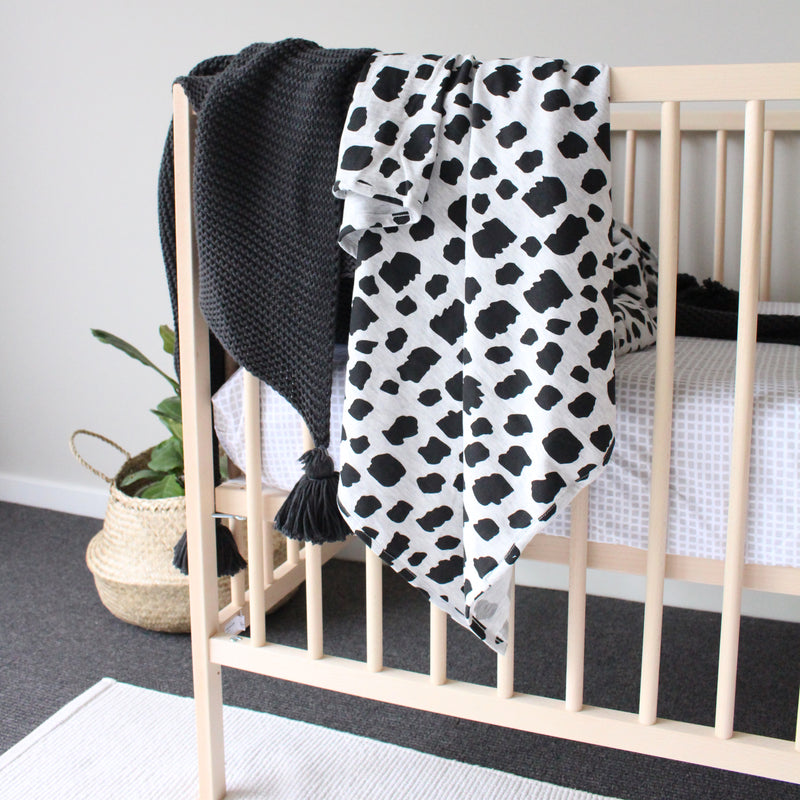 Shapes + Ladders Wrap/Blanket