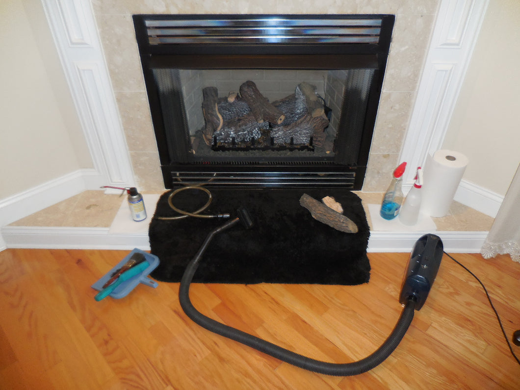 Fireplace Cleaning (Single sided only - additional charges apply for multi-sided - please call for details)