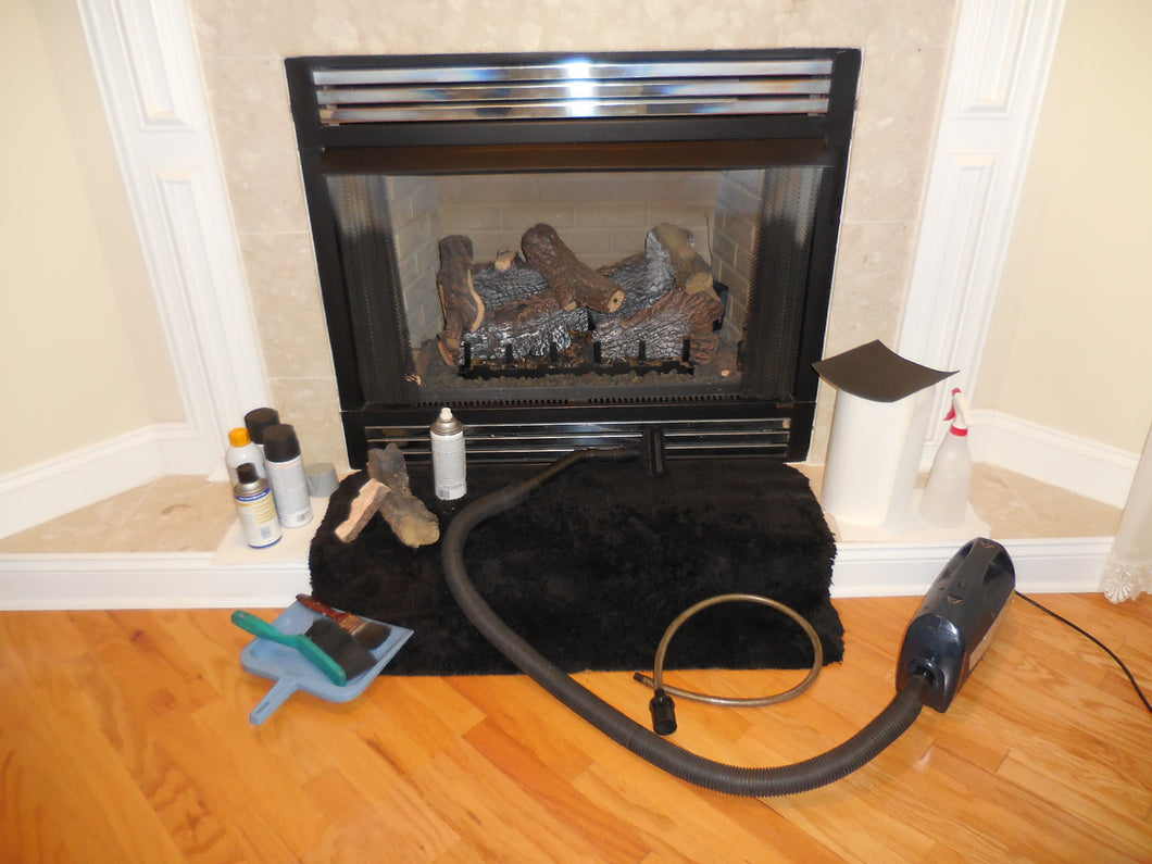 Firebox Rustproofing (Basic while cleaning fireplace)