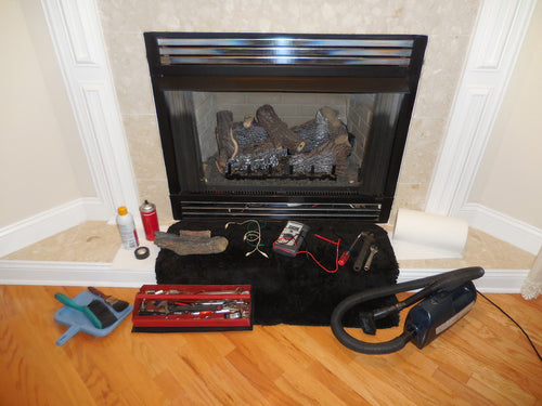 Fireplace start-up (When bundled with delivery)