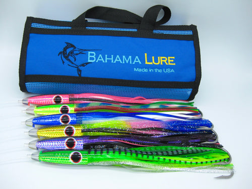 Tuna Bullet Lures - 6 pack - Colors - Hand Made Tackle