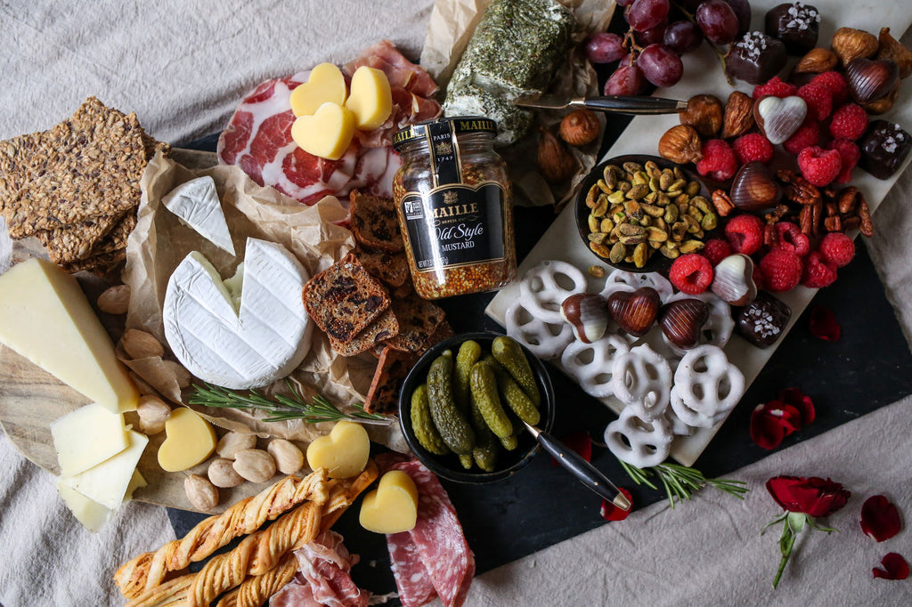 Sweet + Savory Cheeseboard for Two