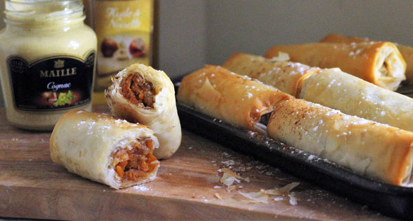 Maille pumpkin pie fingers recipe