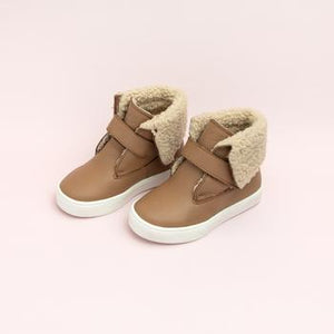Almond Sherpa Boot