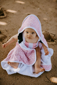 Lucy Knit Hooded Towel