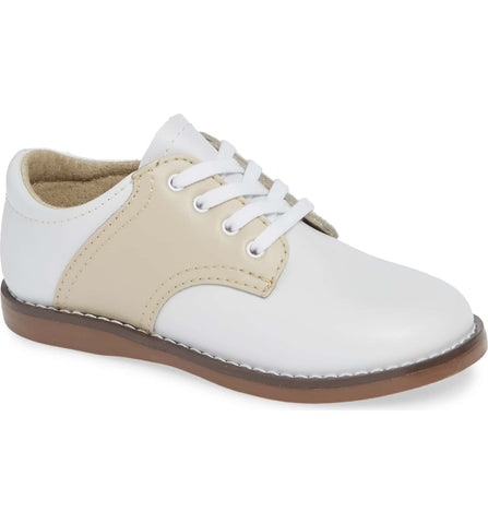 Cheer Oxford in White/Ecru
