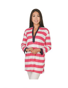 Top It Off Valorie Striped Tunic