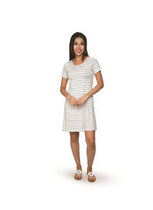 Top It Off Sailor Striped Dress