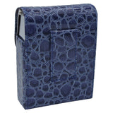 Moc Croc Cigarette Case and Lighter Holder with Rise Up Access for Regulars and Kings