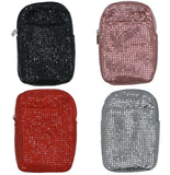 Women's Mesh Cigarette Case Zippered Closure Fits Kings/Regulars with Lighter Pocket