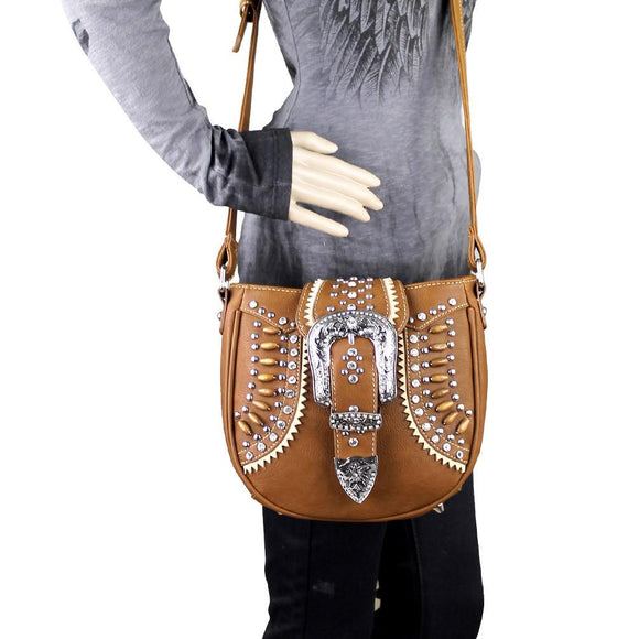 Montana West Cross Body Purse Buckle Collection Native American Handbag