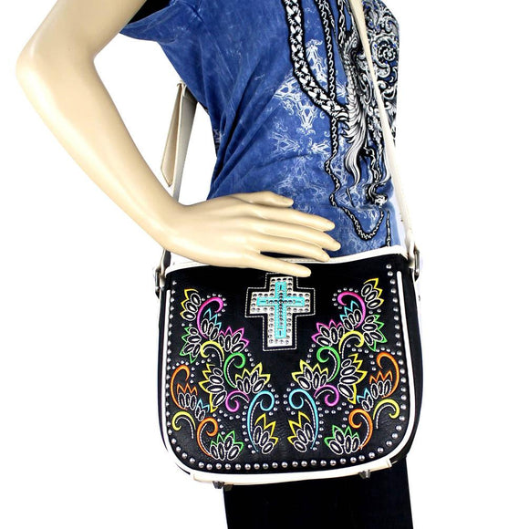 Montana West Cross Body Purse Spiritual Collection Embroidery Bag