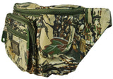 Green Camo Waist Bag Fanny Pack with Concealed Pocket