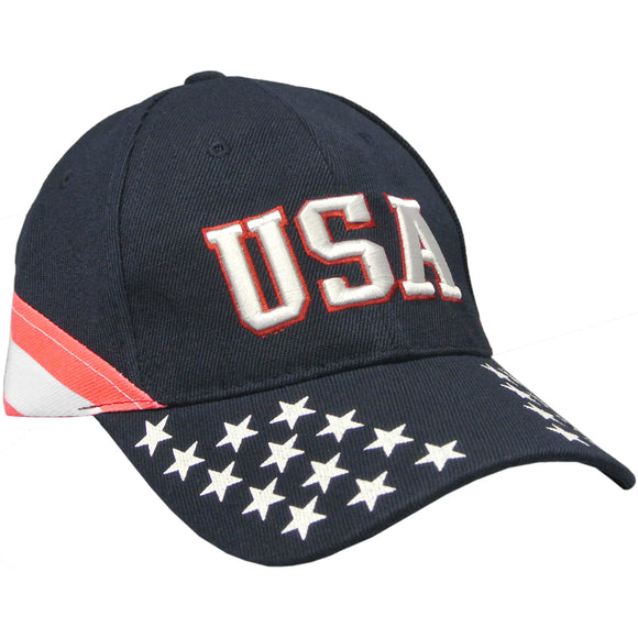 USA American Flag Hat with Stars for Men and Women