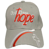God Gives Hope Hat I Love Jesus Baseball Cap for Men and Women