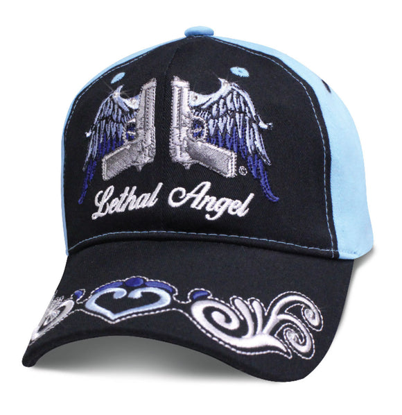 Women's Hat LETHAL ANGEL Winged Pistols Baseball Cap