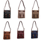 Locking Concealed Carry Crossbody Purse with Holster - Hannah