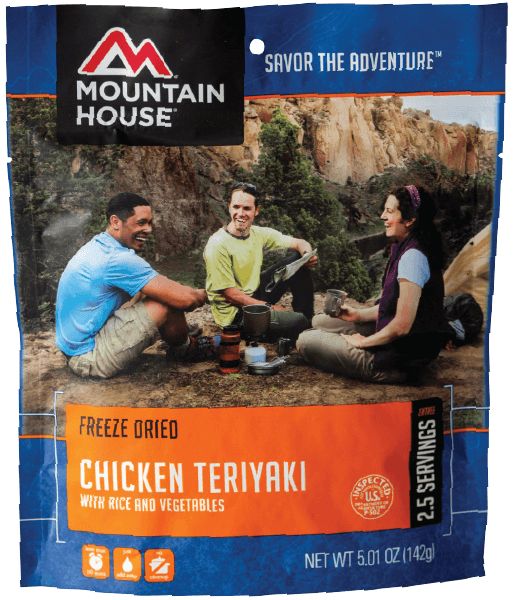 Mountain House Chicken Teriyaki With Rice & Vegetables